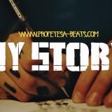 My Story Rap Beat Instrumental Hip-Hop Beatz Profetesa Production