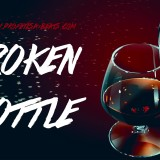Profetesa Beats Dark Gangsta Rap Beat Instrumental Broken Bottle