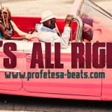 Profetesa Beats vocal Rap Beat Instrumental '' It's All Right''